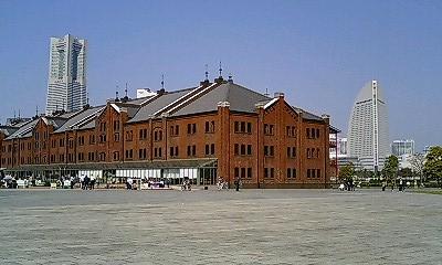 赤レンガ倉庫からの遠景