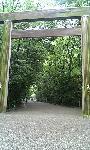 熱田神宮入り口の鳥居