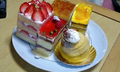 御影高杉のケーキ