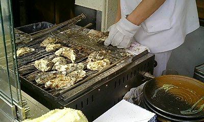 焼き牡蠣1