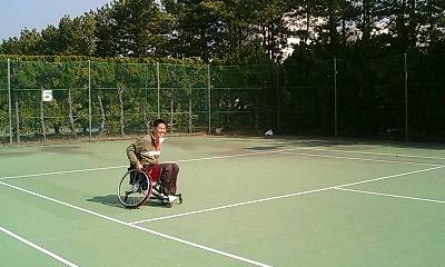 おともさんon車椅子テニス
