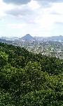本宮から見た讃岐富士