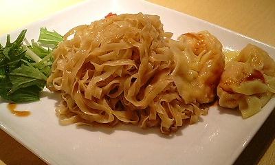 エビワンタン和え麺