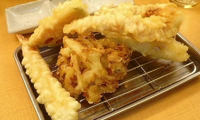 天ぷら定食(松)