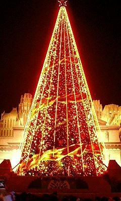 巨大クリスマスツリー2