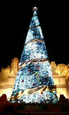 巨大クリスマスツリー3